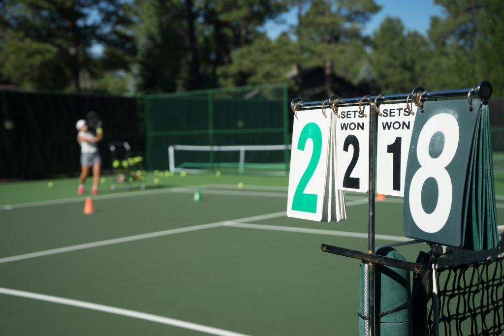 tennis lorne australia