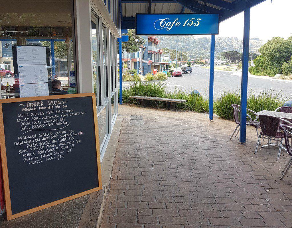 Apollo Bay cafe
