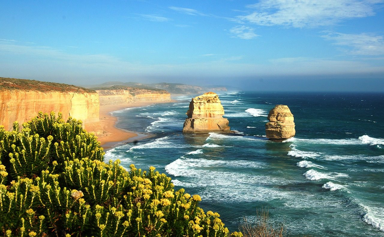 view over the twelve apostles