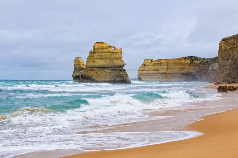 Gibson Steps Beach attraction, Port Campbell National Park along the Great Ocean Road