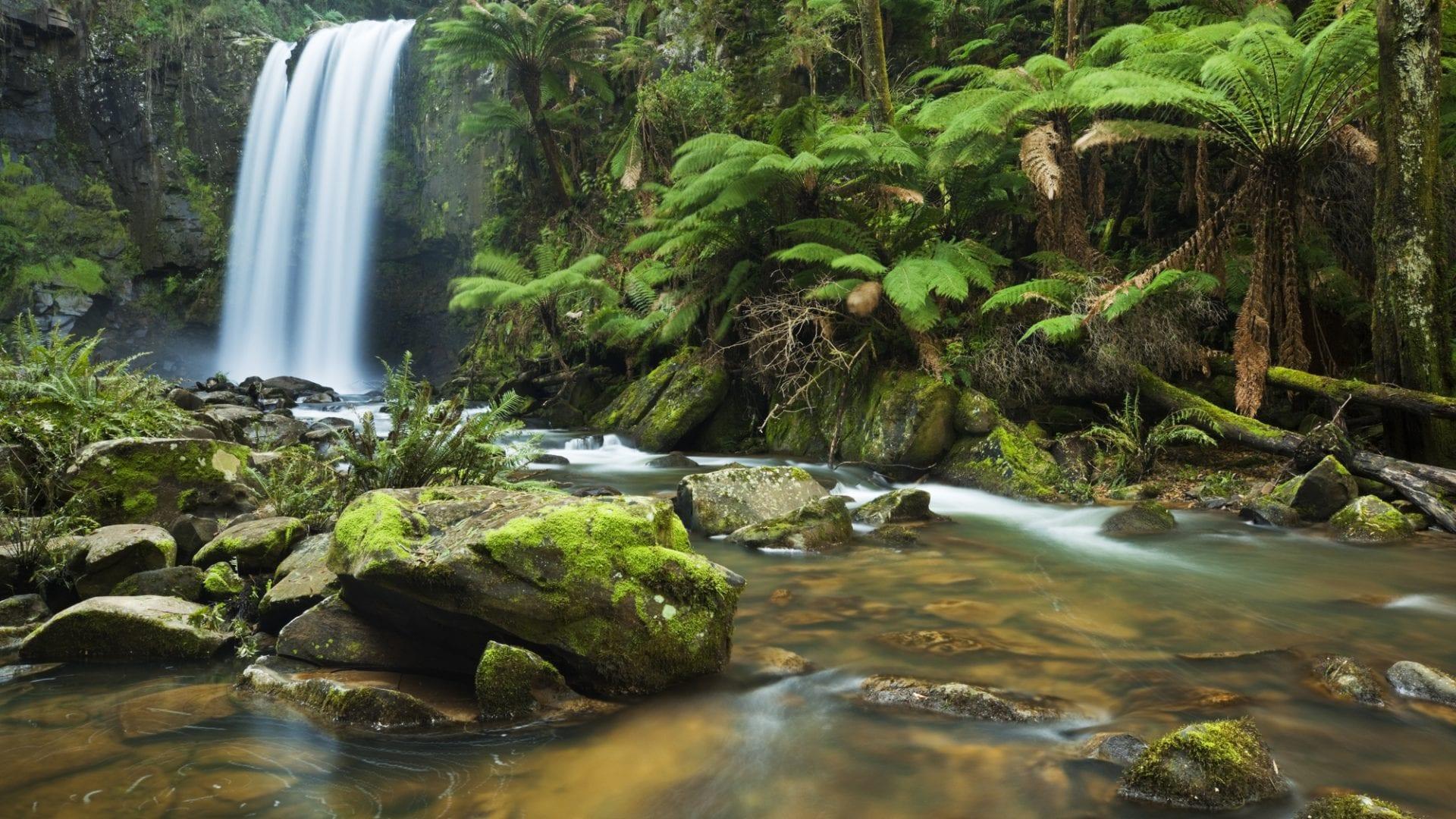 Great Ocean Road waterfalls