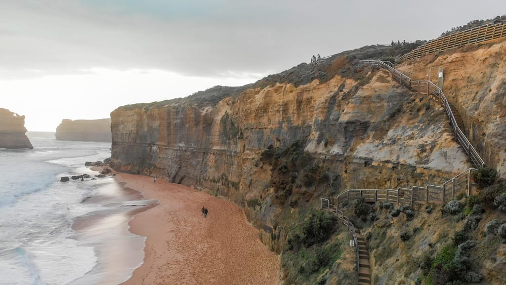 gibsons steps near the 12 Apostles