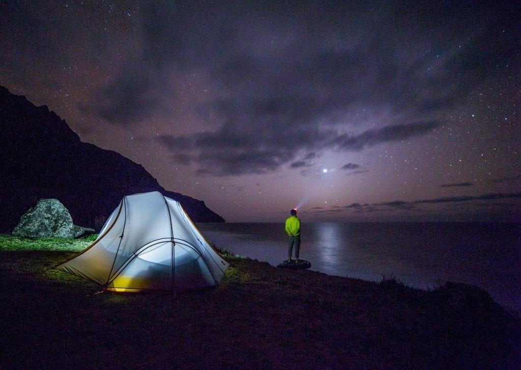 great ocean road camping
