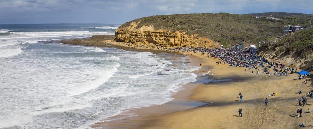 rip curl bells beach surf comp